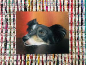 Flo dog painting