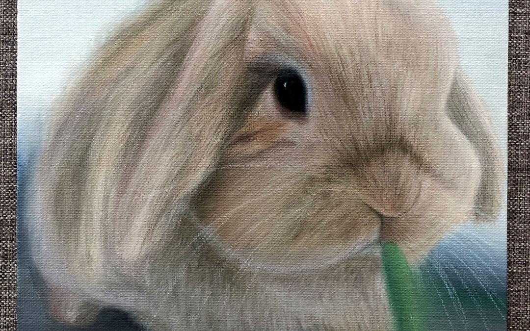 Tom Rabbit painting